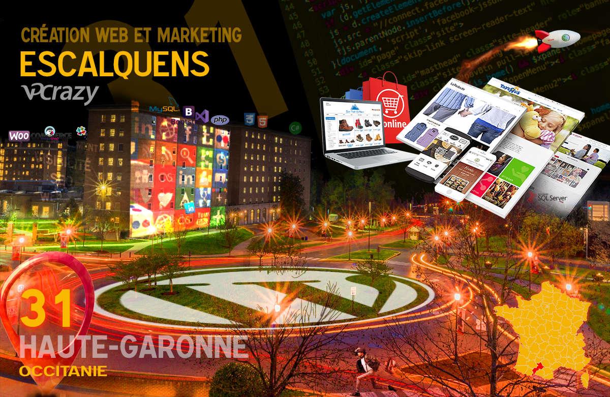 Créateur de site internet Escalquens et Marketing Web