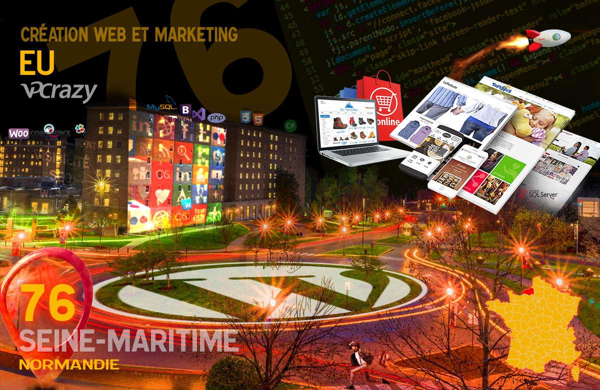 Créateur de site internet Eu et Marketing Web