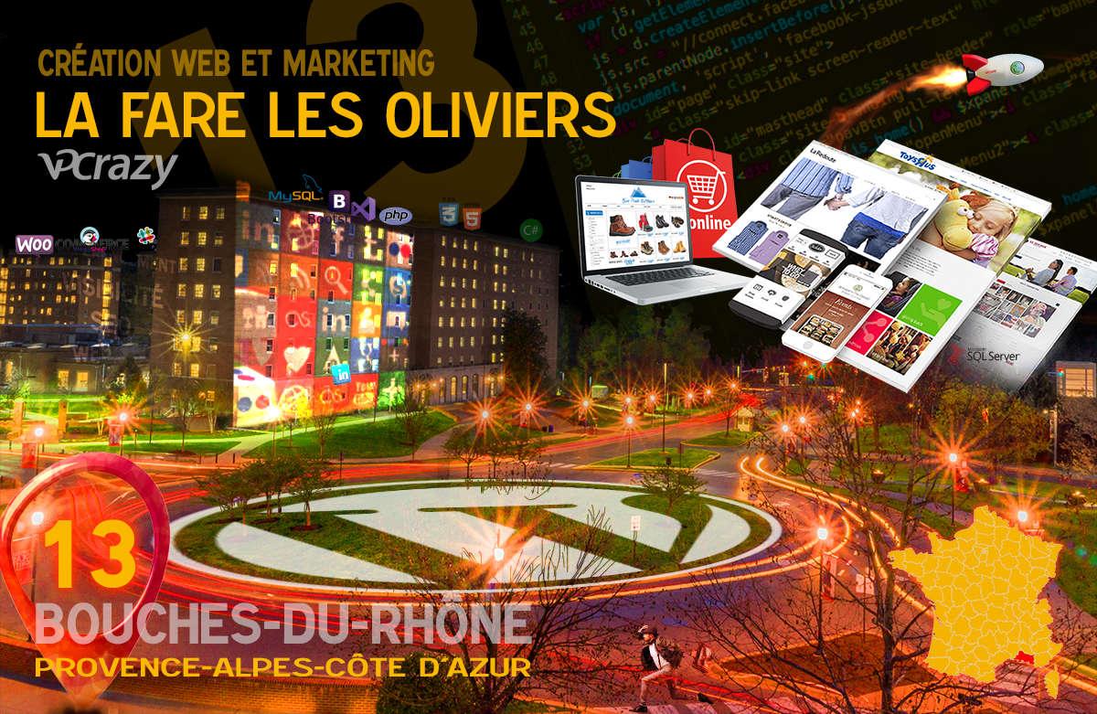 Créateur de site internet La Fare-les-Oliviers et Marketing Web