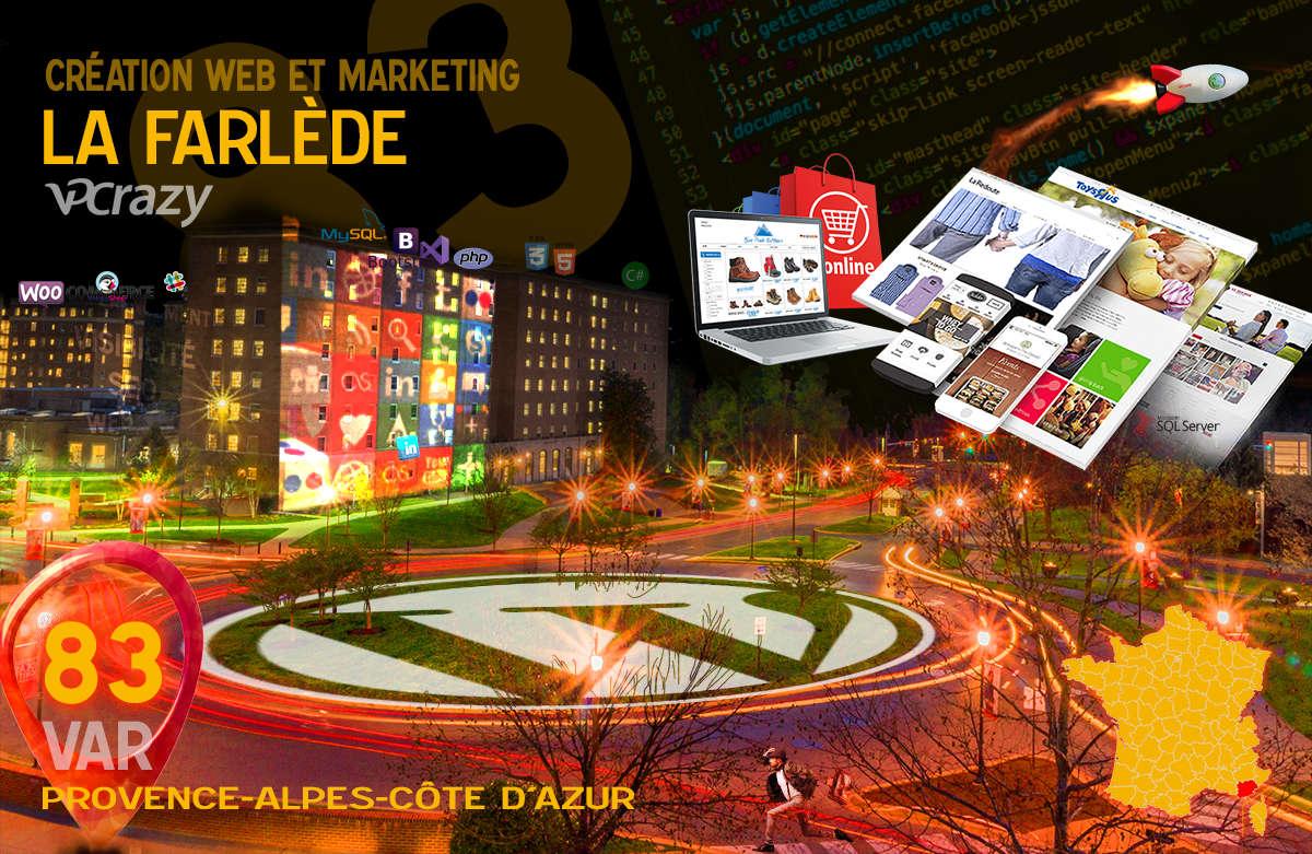 Créateur de site internet La Farlède et Marketing Web