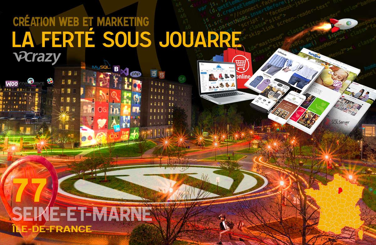 Créateur de site internet La Ferté-sous-Jouarre et Marketing Web