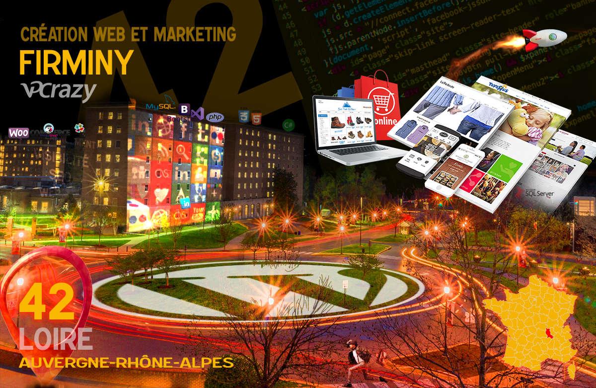 Créateur de site internet Firminy et Marketing Web