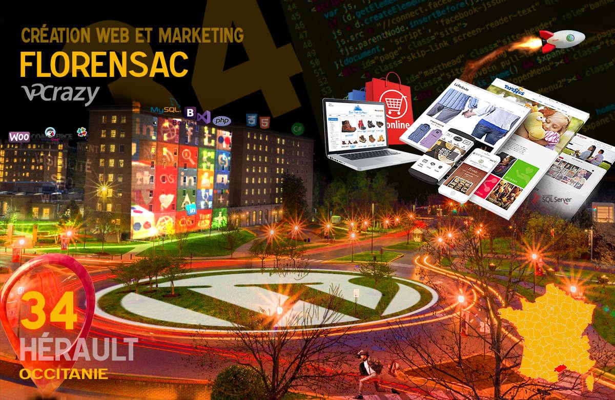 Créateur de site internet Florensac et Marketing Web