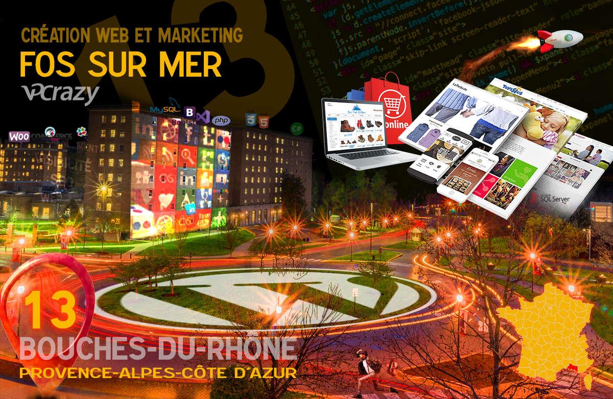 Créateur de site internet Fos-sur-Mer et Marketing Web