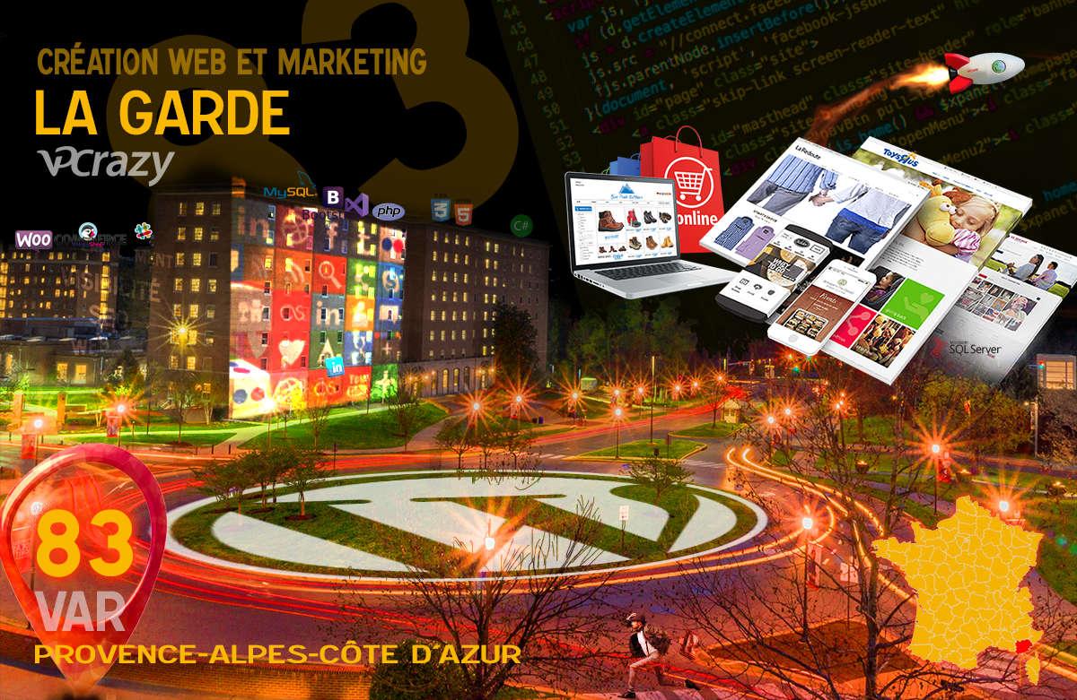 Créateur de site internet La Garde et Marketing Web