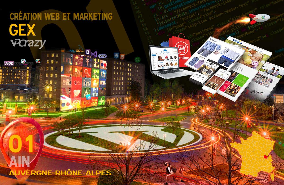 Créateur de site internet Gex et Marketing Web