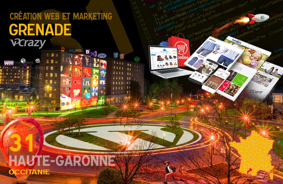 Créateur de site internet Grenade et Marketing Web
