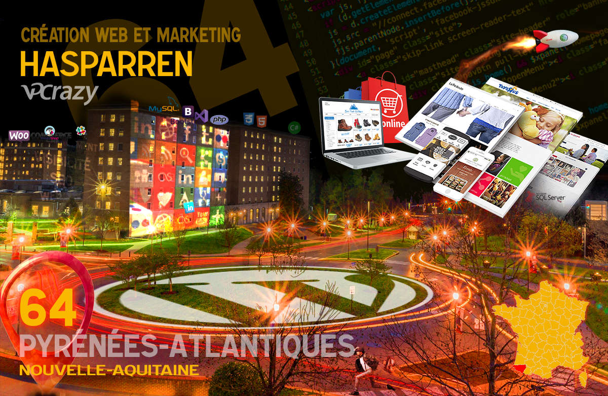 Créateur de site internet Hasparren et Marketing Web