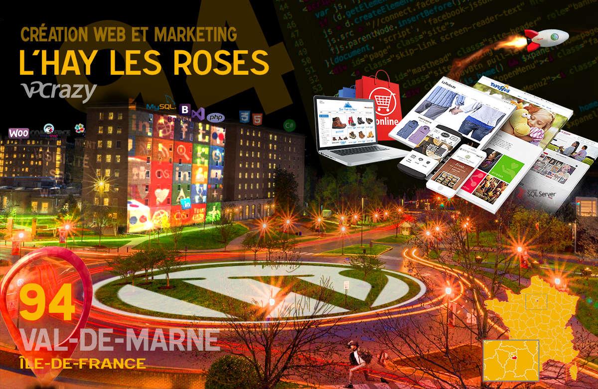 Créateur de site internet L'Hay-les-Roses et Marketing Web