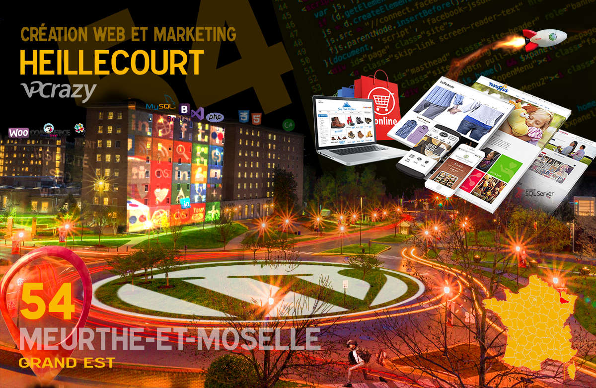 Créateur de site internet Heillecourt et Marketing Web