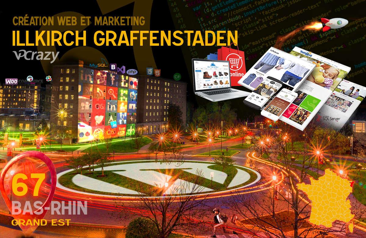 Créateur de site internet Illkirch-Graffenstaden et Marketing Web
