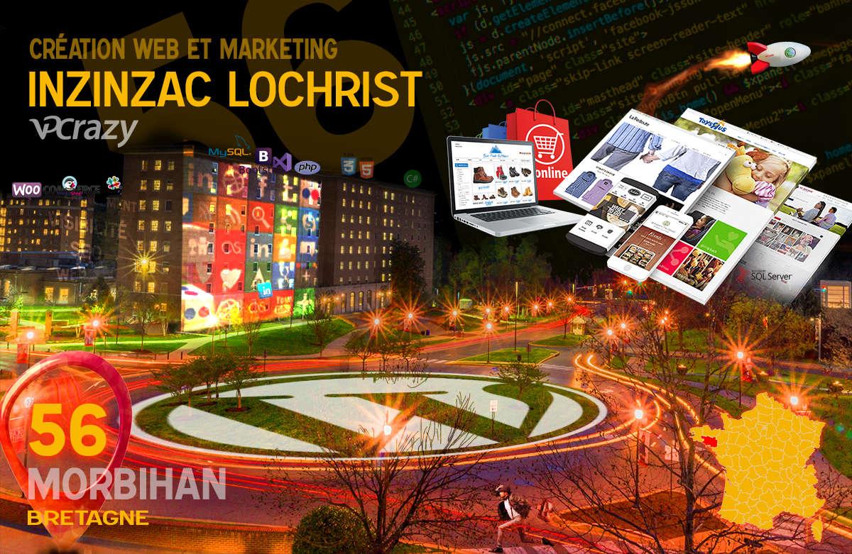 Créateur de site internet Inzinzac-Lochrist et Marketing Web