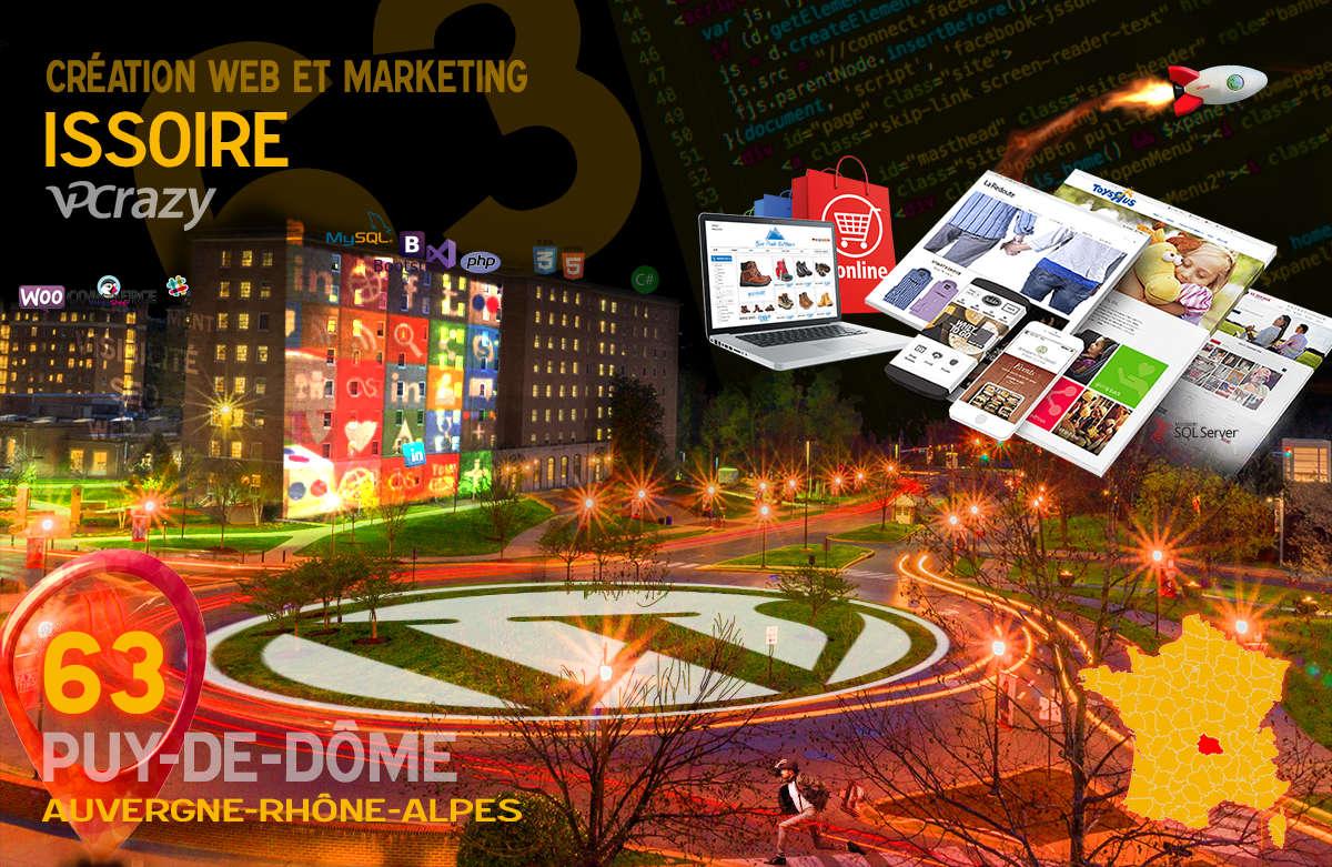 Créateur de site internet Issoire et Marketing Web