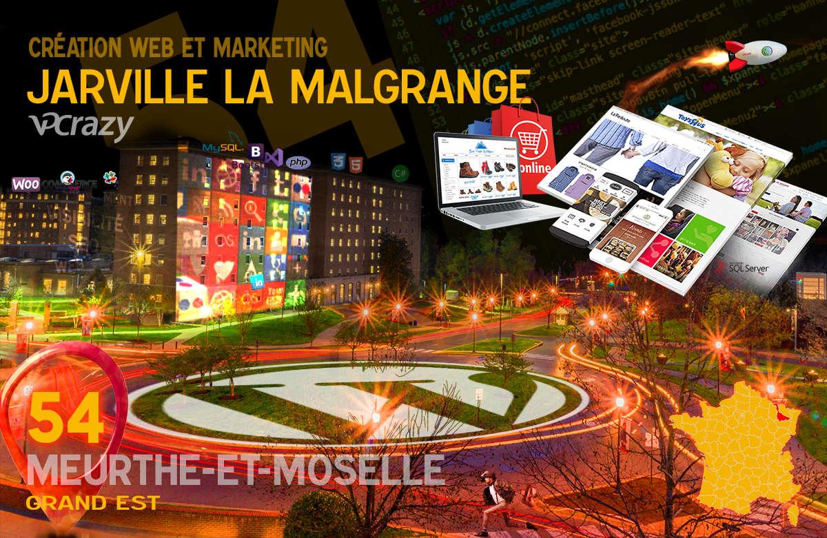 Créateur de site internet Jarville-la-Malgrange et Marketing Web