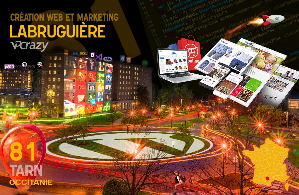Créateur de site internet Labruguière et Marketing Web