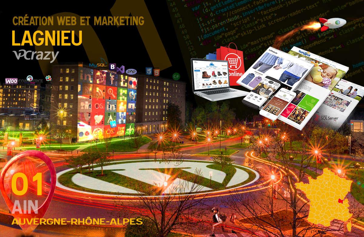 Créateur de site internet Lagnieu et Marketing Web