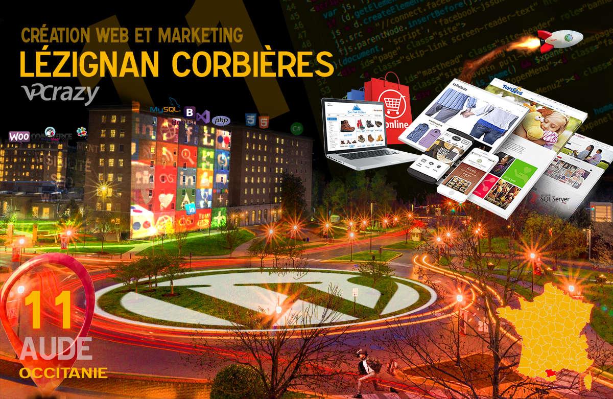 Créateur de site internet Lézignan-Corbières et Marketing Web