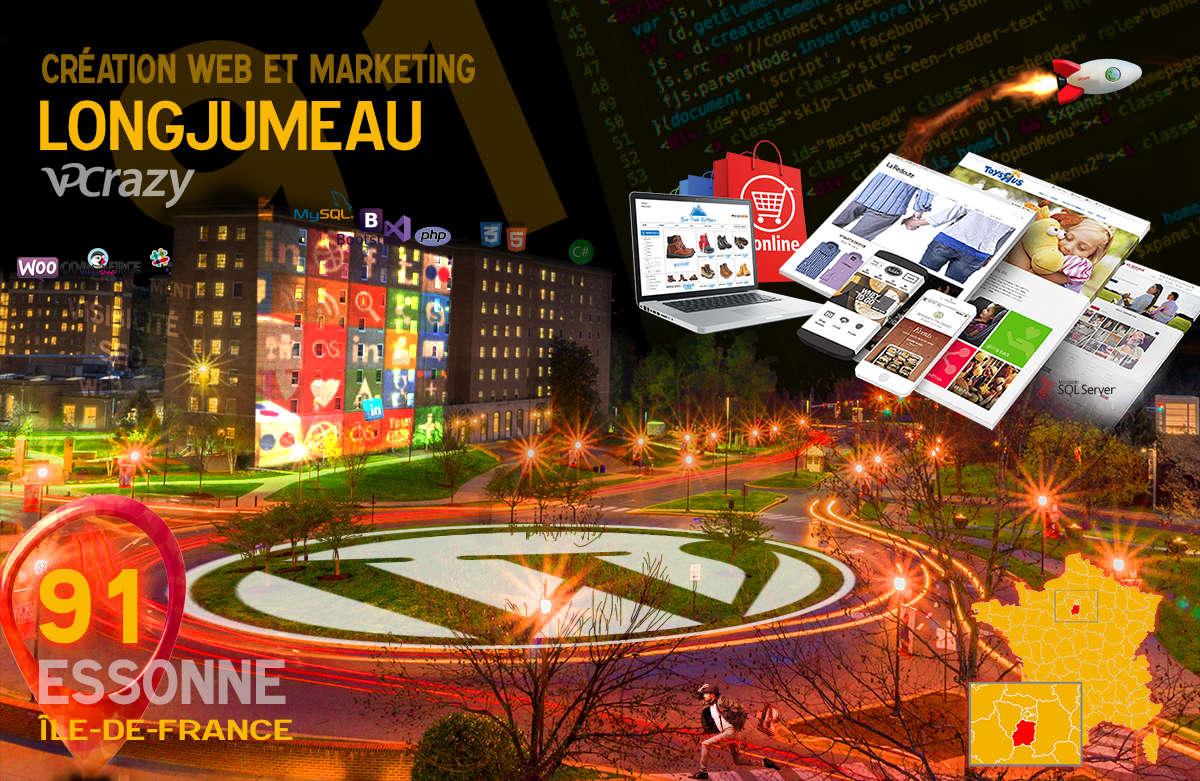 Créateur de site internet Longjumeau et Marketing Web