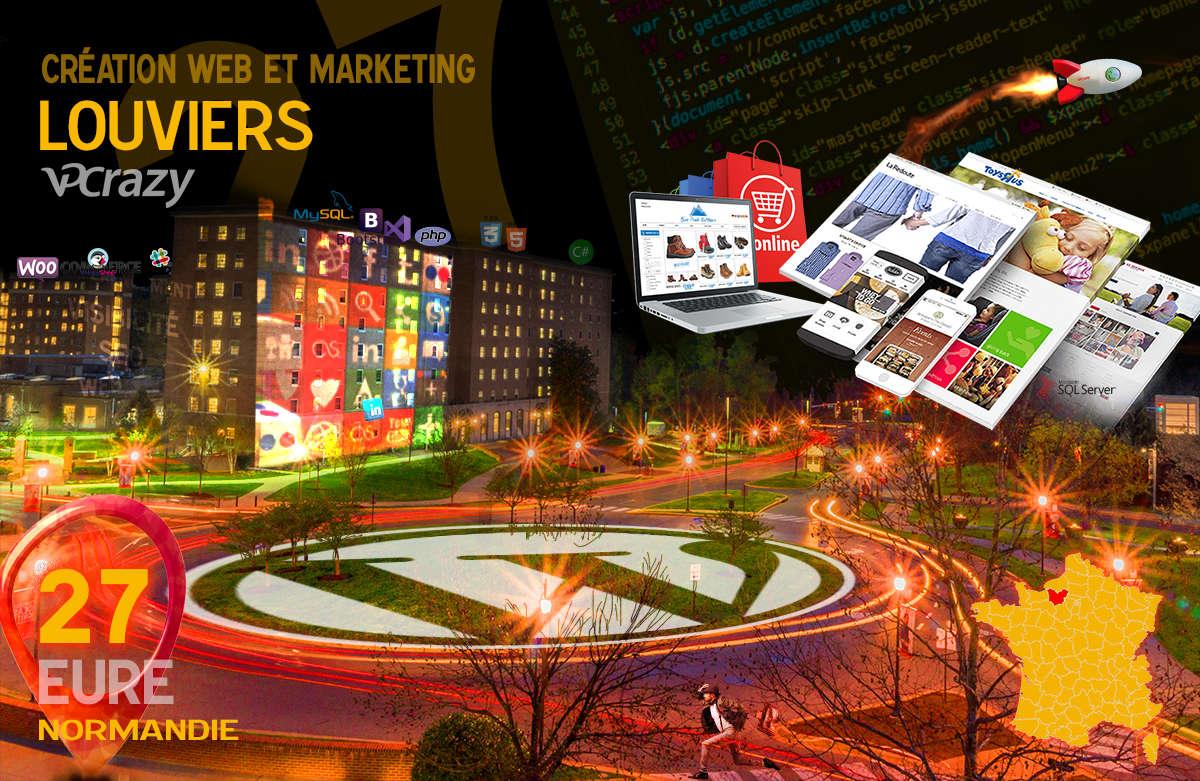 Créateur de site internet Louviers et Marketing Web