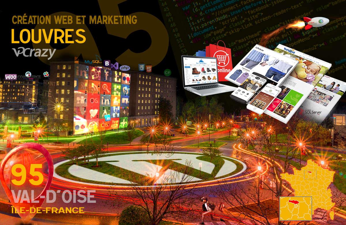 Créateur de site internet Louvres et Marketing Web