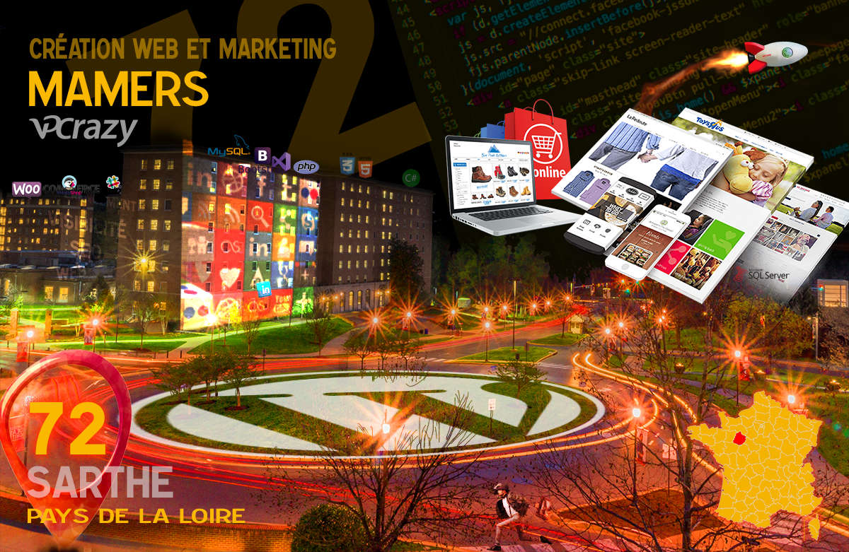 Créateur de site internet Mamers et Marketing Web