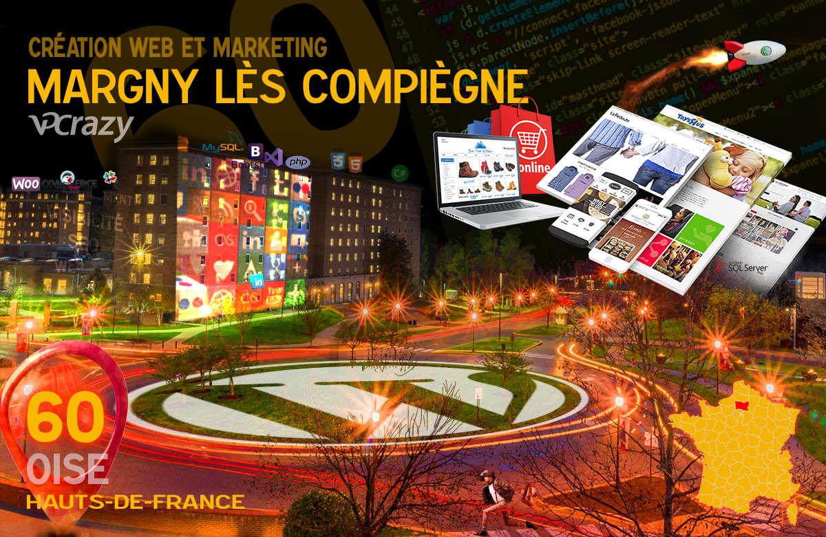 Créateur de site internet Margny-lès-Compiègne et Marketing Web
