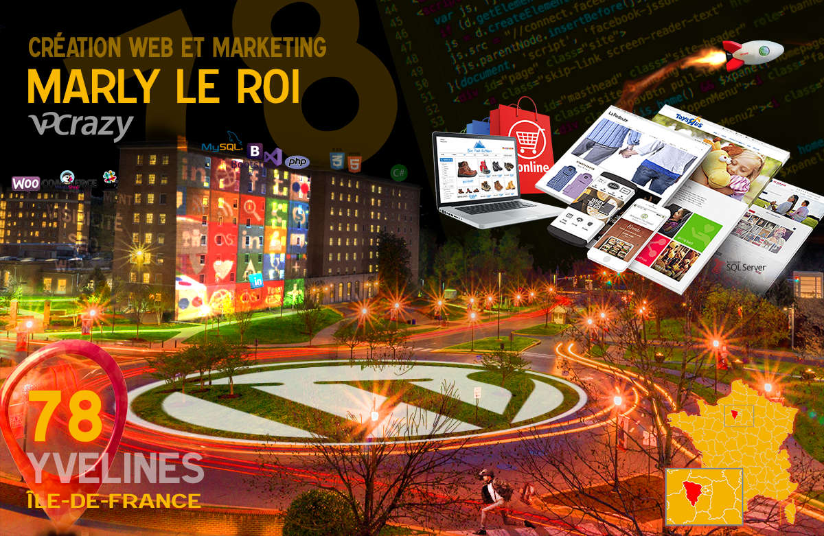 Créateur de site internet Marly-le-Roi et Marketing Web