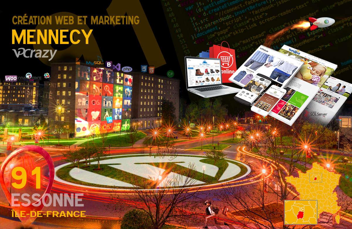 Créateur de site internet Mennecy et Marketing Web