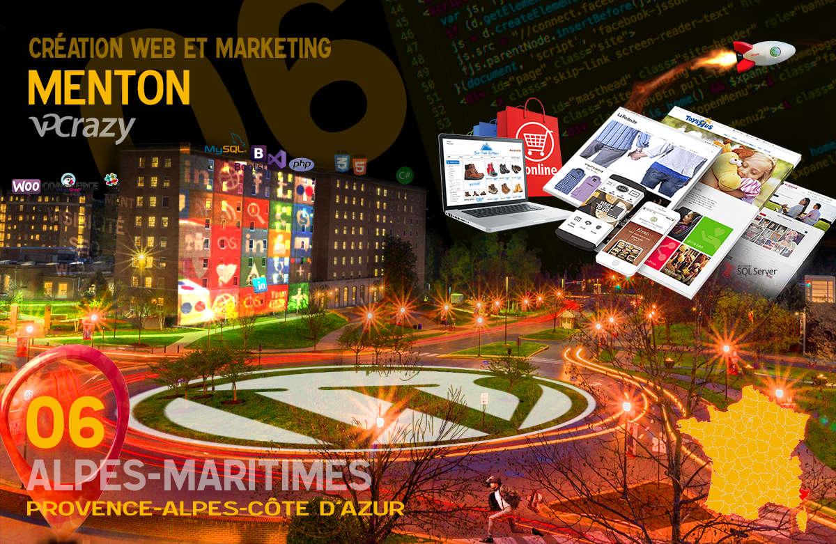 Créateur de site internet Menton et Marketing Web