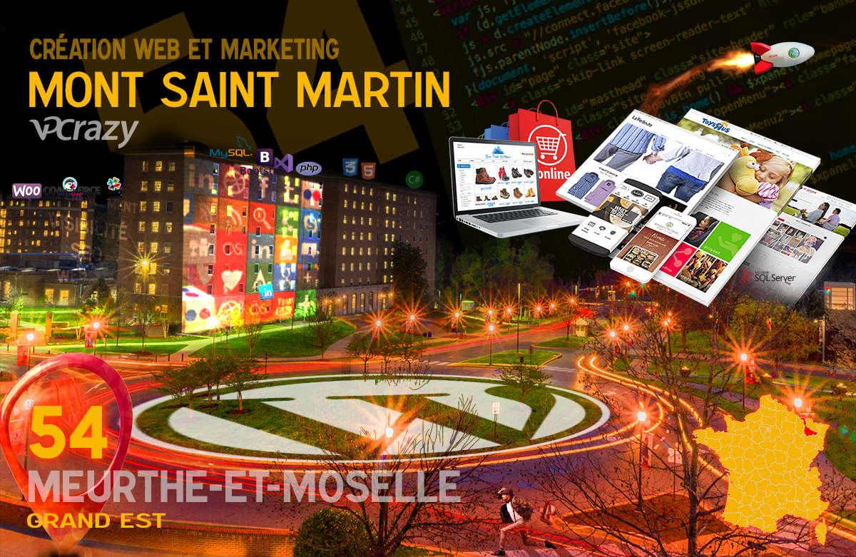Créateur de site internet Mont-Saint-Martin et Marketing Web