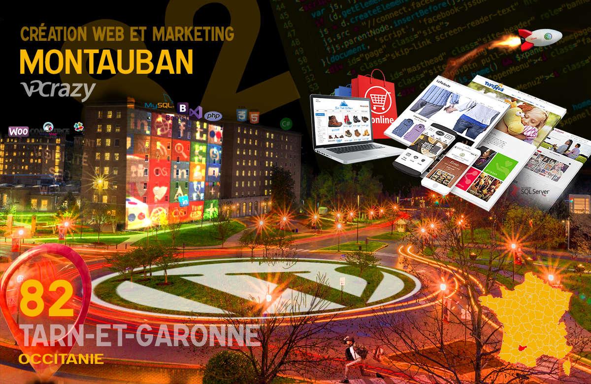 Créateur de site internet Montauban et Marketing Web