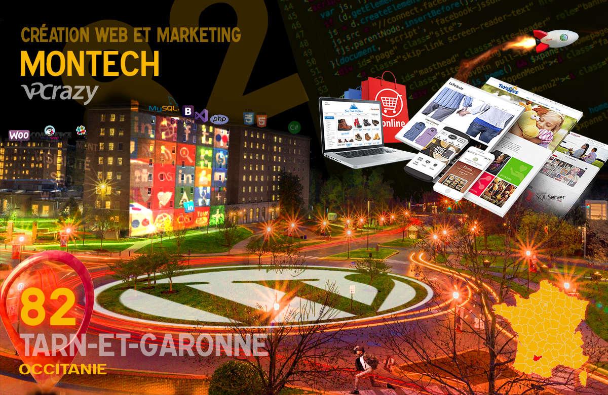 Créateur de site internet Montech et Marketing Web