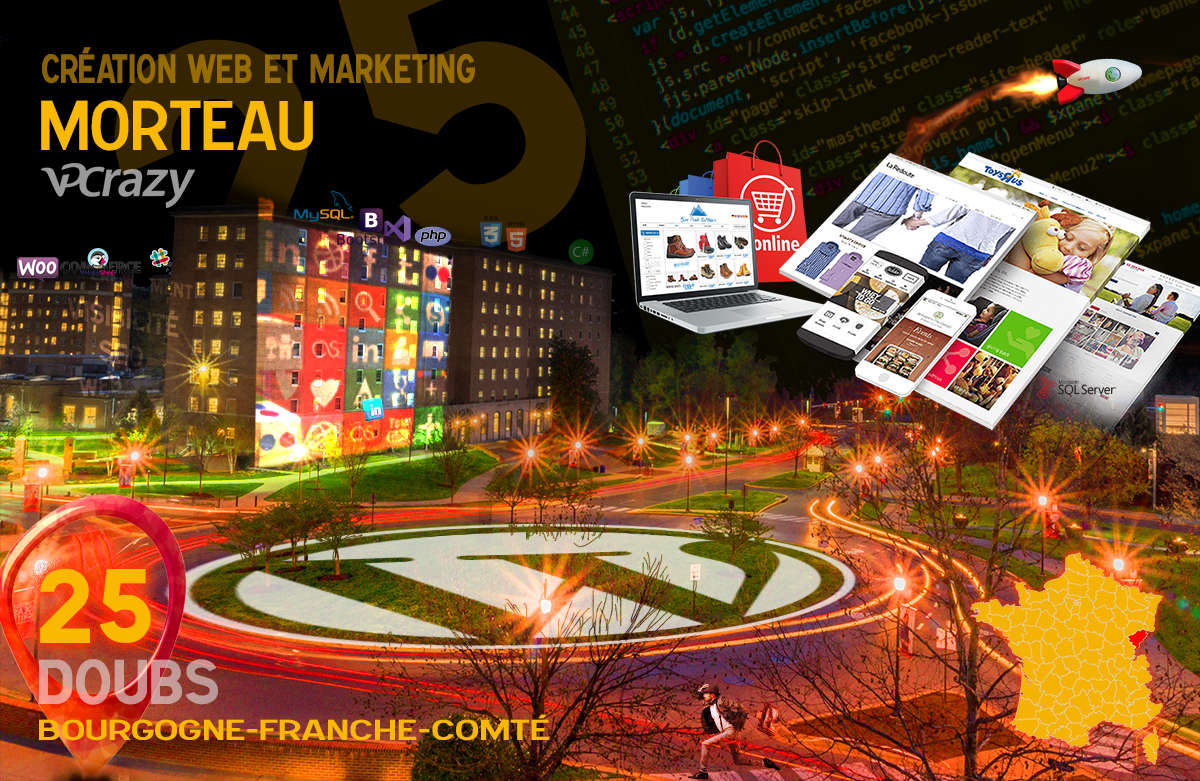Créateur de site internet Morteau et Marketing Web