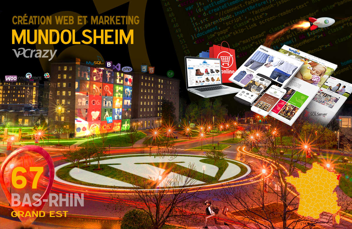 Créateur de site internet Mundolsheim et Marketing Web