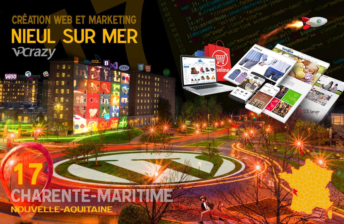 Créateur de site internet Nieul-sur-Mer et Marketing Web