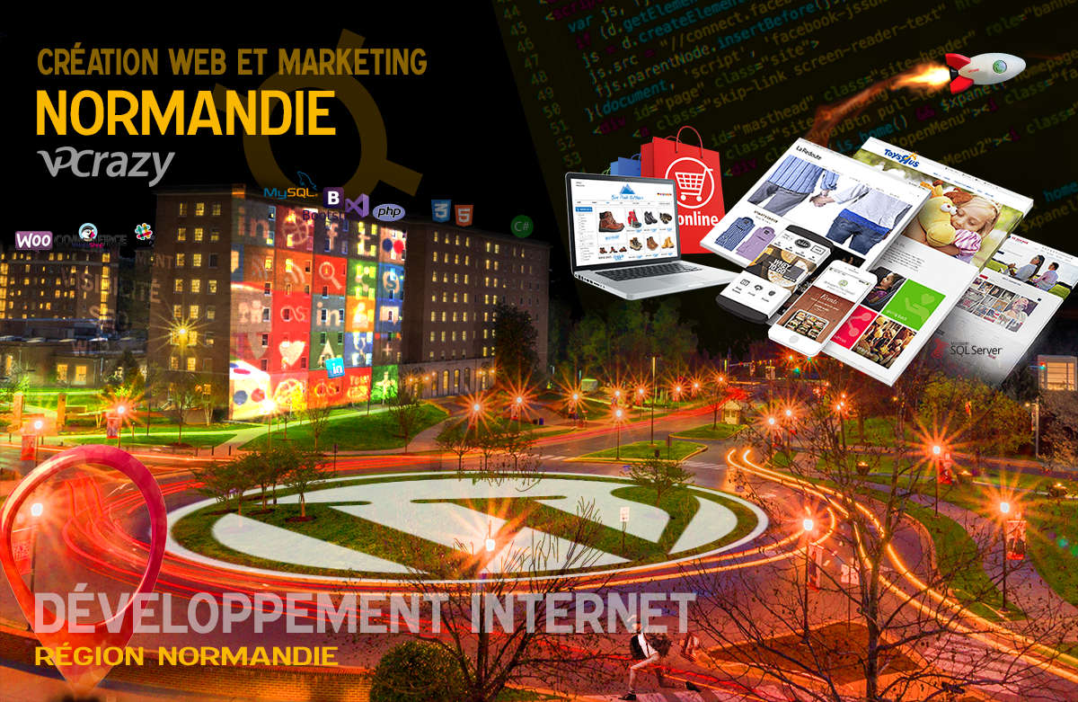 Créateur de site internet Normandie et Marketing Web