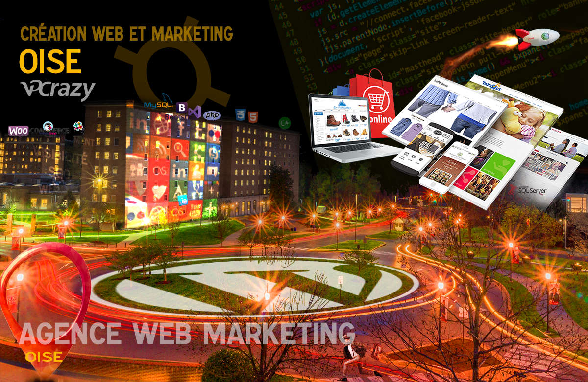 Créateur de site internet Oise et Marketing Web