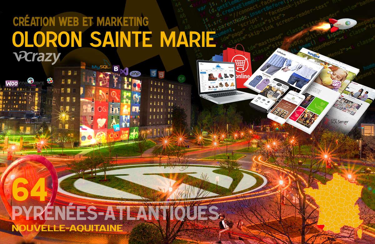 Créateur de site internet Oloron-Sainte-Marie et Marketing Web