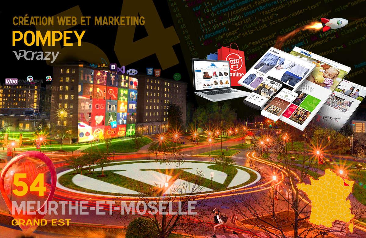 Créateur de site internet Pompey et Marketing Web
