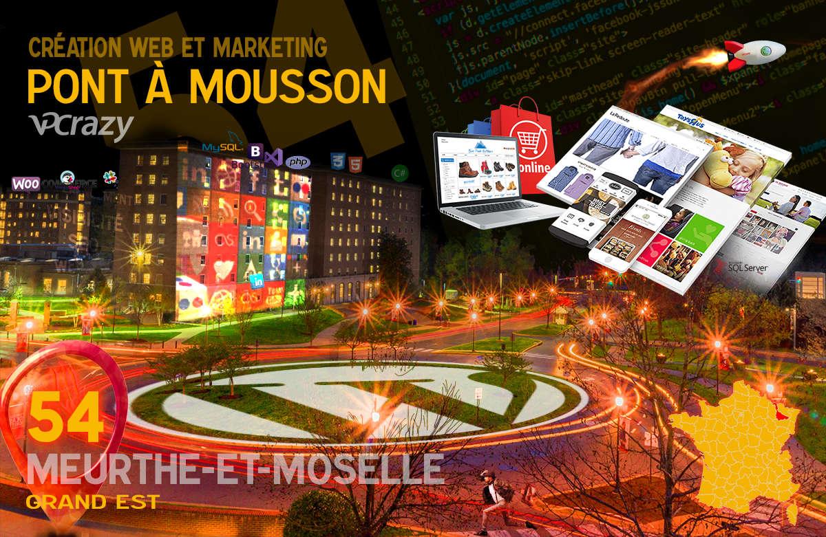 Créateur de site internet Pont-à-Mousson et Marketing Web