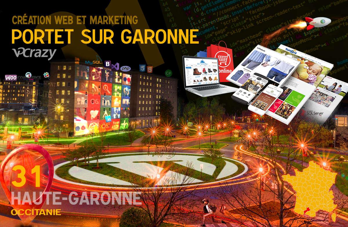 Créateur de site internet Portet-sur-Garonne et Marketing Web