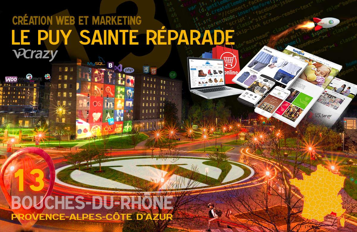 Créateur de site internet Le Puy-Sainte-Réparade et Marketing Web
