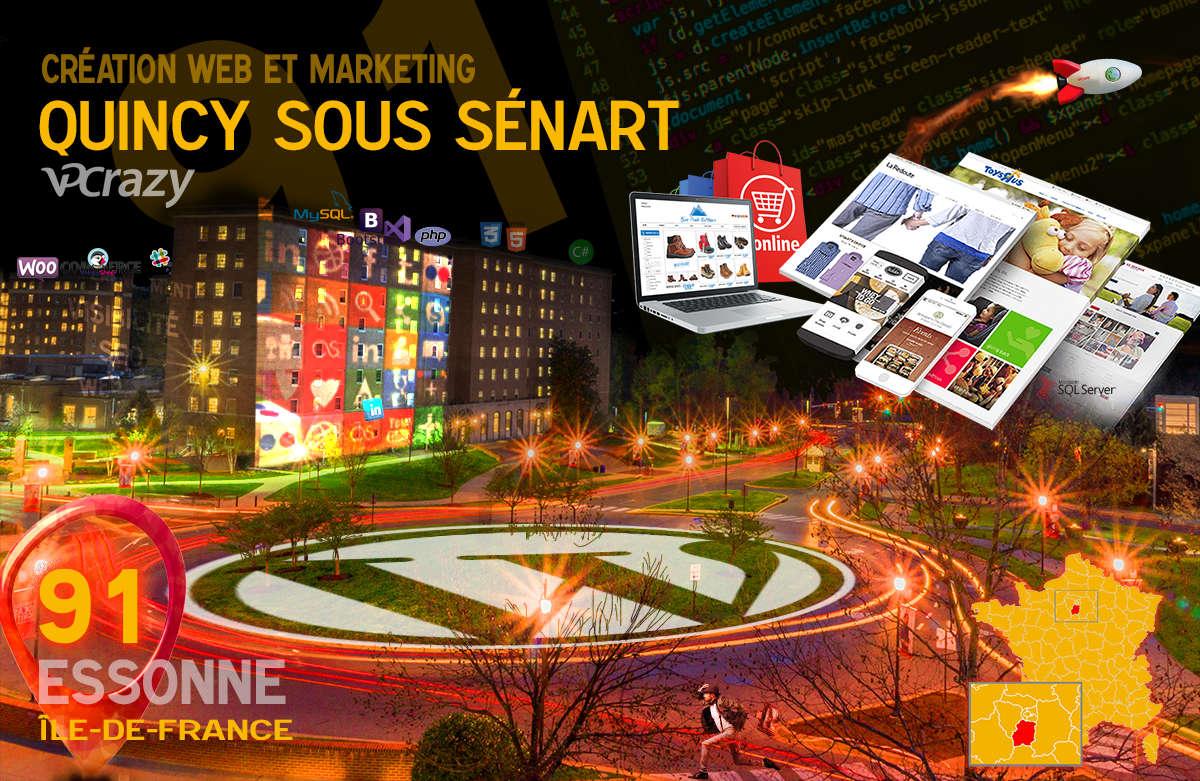Créateur de site internet Quincy-sous-Sénart et Marketing Web