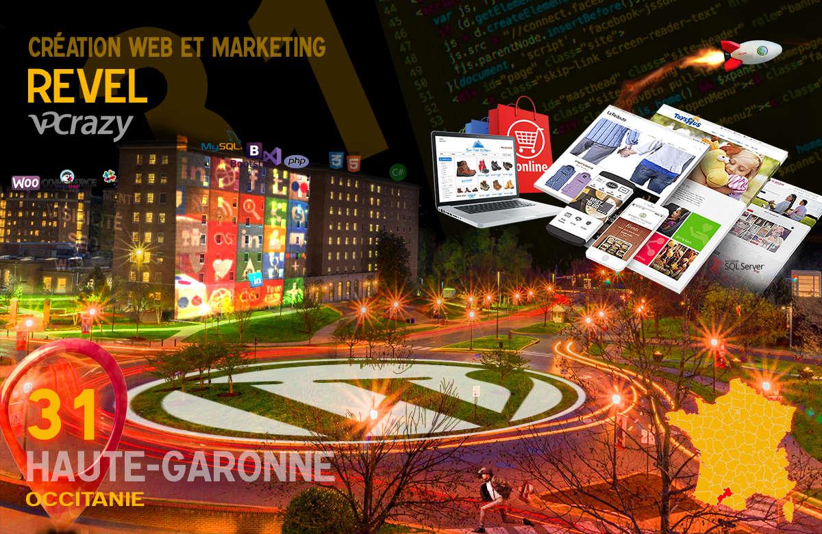 Créateur de site internet Revel et Marketing Web
