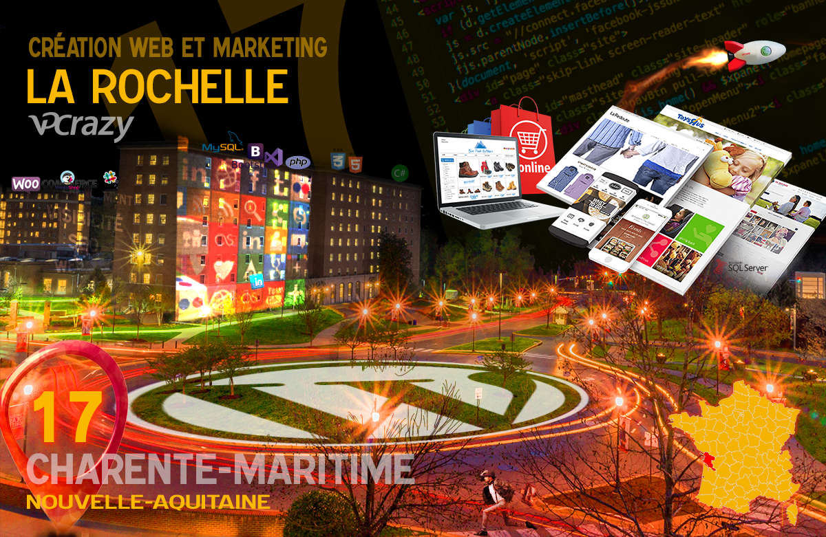 Créateur de site internet La Rochelle et Marketing Web