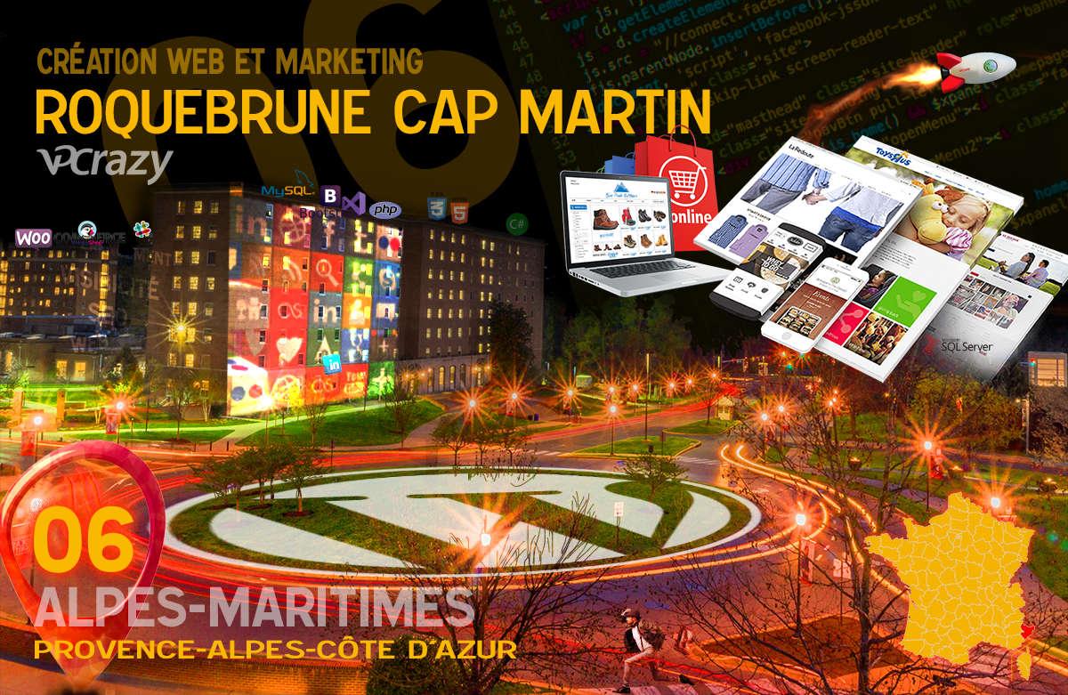 Créateur de site internet Roquebrune-Cap-Martin et Marketing Web