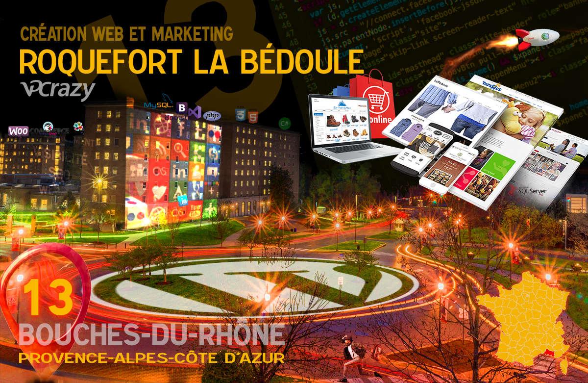 Créateur de site internet Roquefort-la-Bédoule et Marketing Web
