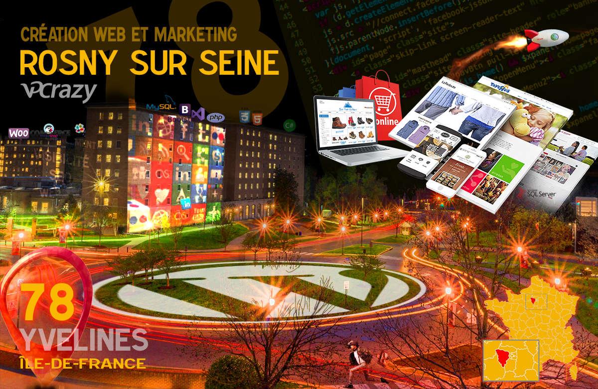 Créateur de site internet Rosny-sur-Seine et Marketing Web
