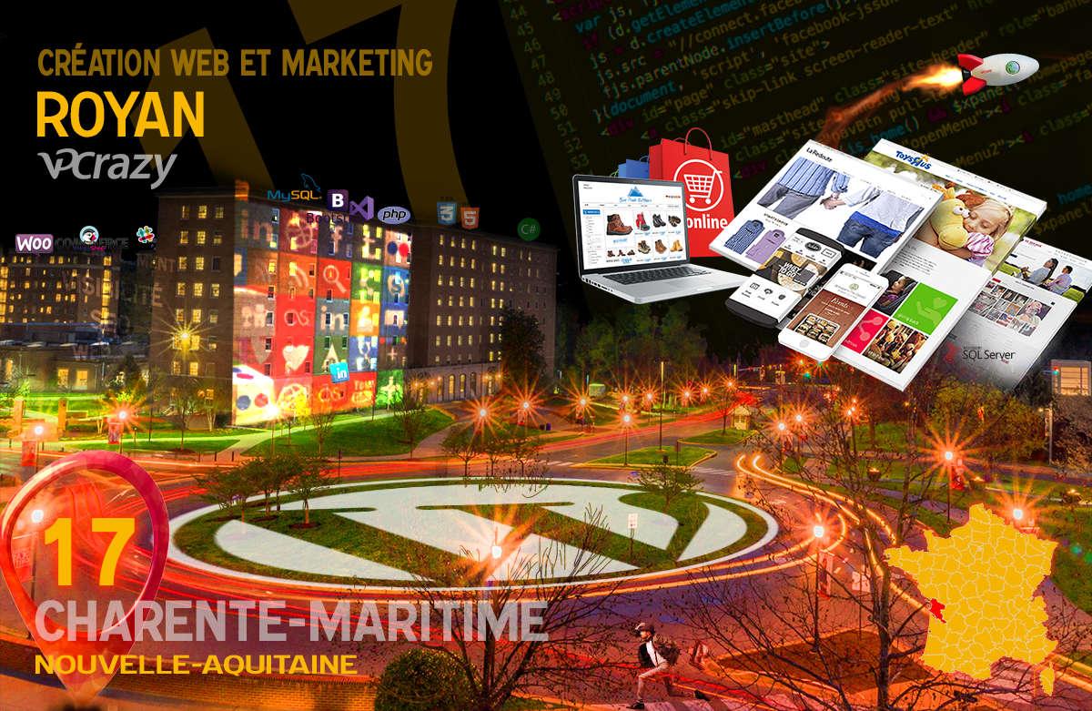 Créateur de site internet Royan et Marketing Web
