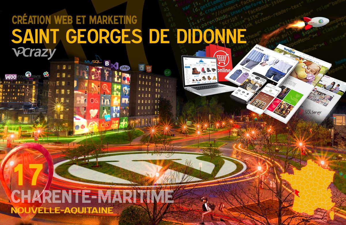 Créateur de site internet Saint-Georges-de-Didonne et Marketing Web